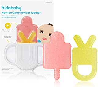 Not-Too-Cold-to-Hold BPA-Free Silicone Teether for Babies...