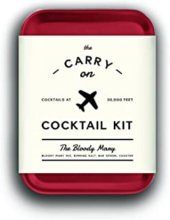 W&P MAS-CARRY-BM-2 Carry on Cocktail Kit, Bloody Mary, Travel Kit for Drinks on the Go, Craft Cocktails, TSA Approved Sing...