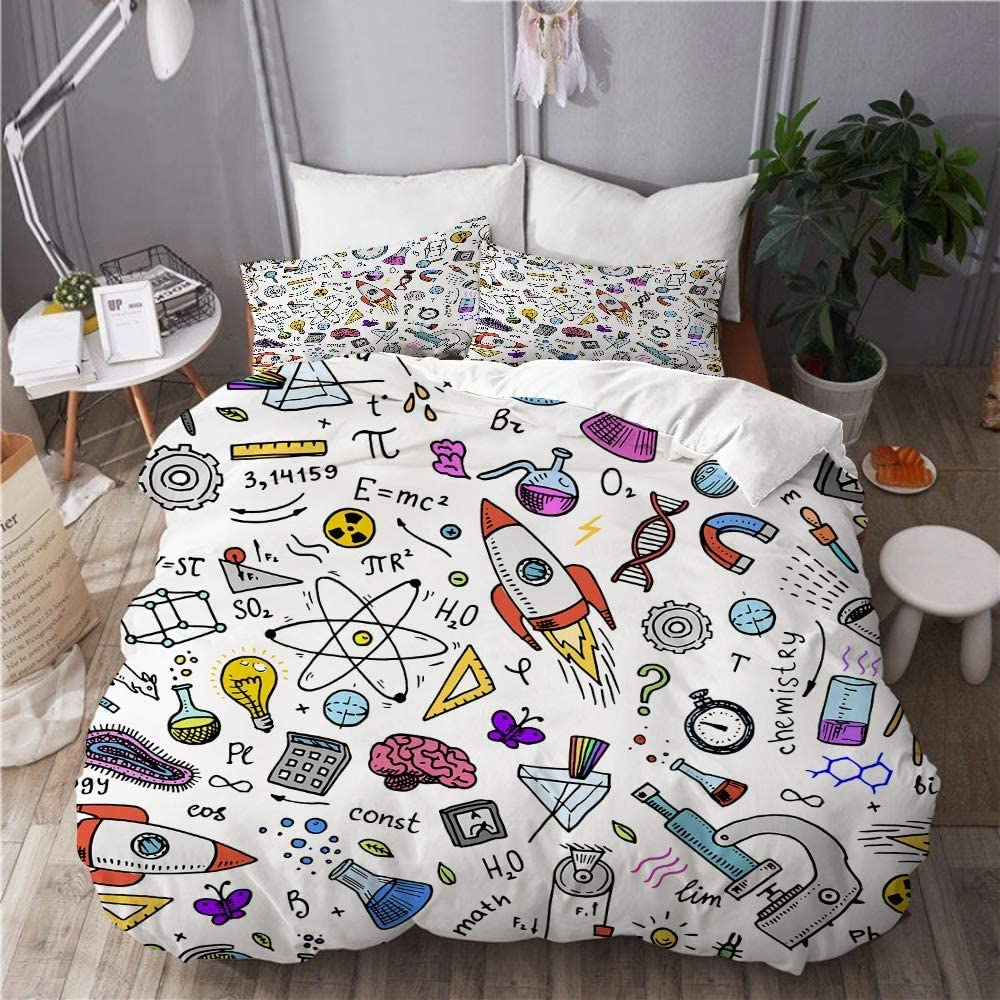 EMYPCH 3 Piece Duvet Financial sales sale Cover Set Size Drawn Queen Engraved Cheap super special price - Hand