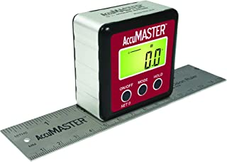 "Calculated Industries 7534 AccuMASTER 2-in-1 Magnetic Digital Level and Angle Finder | Inclinometer | Bevel Gauge, Latest MEMs Technology, IP54 Dust and Water Resistant | Bonus 6"" Precision Ruler"