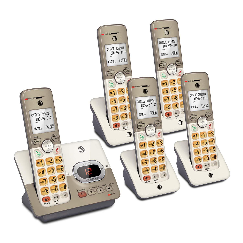 AT EL52513 5 Handset Expandable Answering