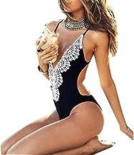 Linda Per Comfortable Sexy Women One Piece Swimsuit Push Up Padded Bikini Monokini Swimwear Beachwear