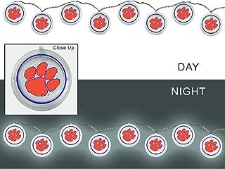 Team Sports America NCAA Outdoor Safe Battery Powered String Light Set
