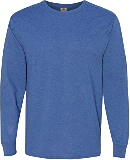 Fruit of the Loom Mens HD Cotton Long Sleeve T-Shirt 4930R