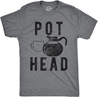 pot head t shirt coffee