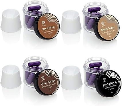 LOVELY HENNA - Tinte para cejas (12 cápsulas de 5 g) en polvo ...