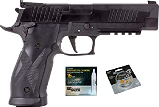 SIG Sauer X-Five Air Pistol with CO2 12 Gram (15 Pack) and 500 Lead Pellets Bundle