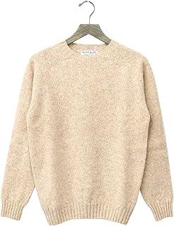 (インバーアラン) INVERALLAN『Crew Neck Sweater-Saddle』(Tusk)