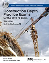 Ppi2pass Construction Depth Practice Exams for the Civil Pe Exam, 3rd Edition (Paperback) - Comprehensive Practice Exams for the Ncees Pe Civil Construction Exam