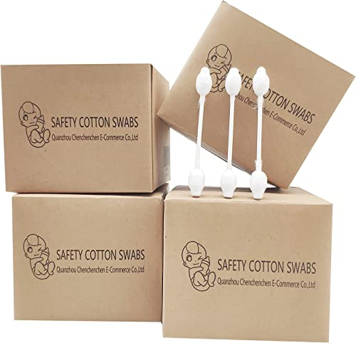 432pcs Safety Cotton Swabs with Large Tips for Kids,Newborn,Babies,Children