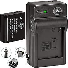 BM Premium DMW-BLG10 Battery and Battery Charger for Panasonic Lumix DC-ZS80, DC-GX9, DC-LX100 II, DC-ZS200, DC-ZS70, DMC-GX80, DMC-GX85, DMC-ZS60, DMC-ZS100, DMC-GF6, DMC-GX7K, DMC-LX100K Cameras