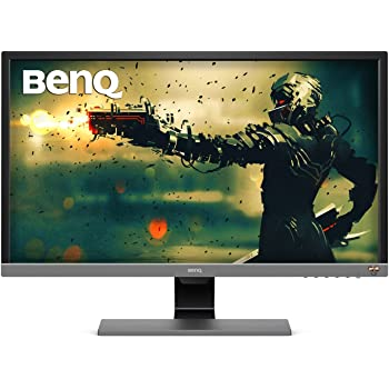 BenQ EL2870U 28 inch 4K Monitor for Gaming 1ms Response Time, FreeSync, HDR, eye-care, speakers