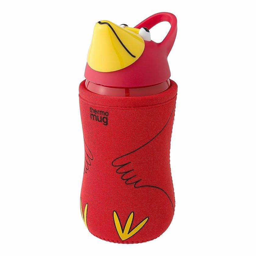 THERMO MUG ステンレスボトル レッド 380ml Animal Bottle(アニマルボトル) AM18-38