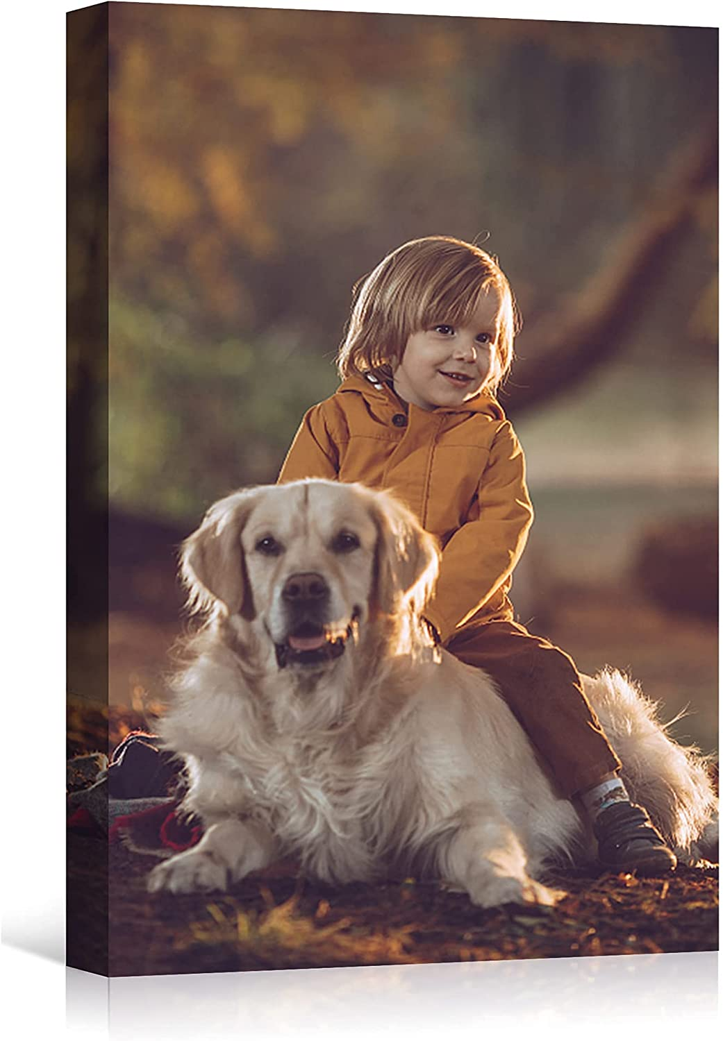 FERRISA Custom Canvas Prints Import with Max 61% OFF Photos Personalized Wall Your