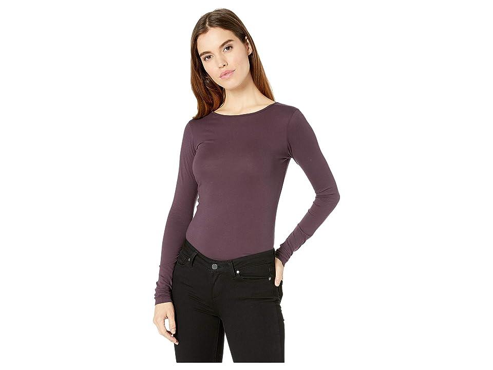 LAmade Crew Neck Tunic (Purple Empire) Women's T Shirt