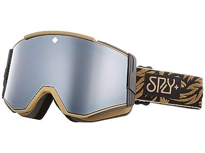Spy Optic Ace (Spy + Phil Casabon Hd Plus Bronze w/ Silver Spectra Mirror + H) Goggles