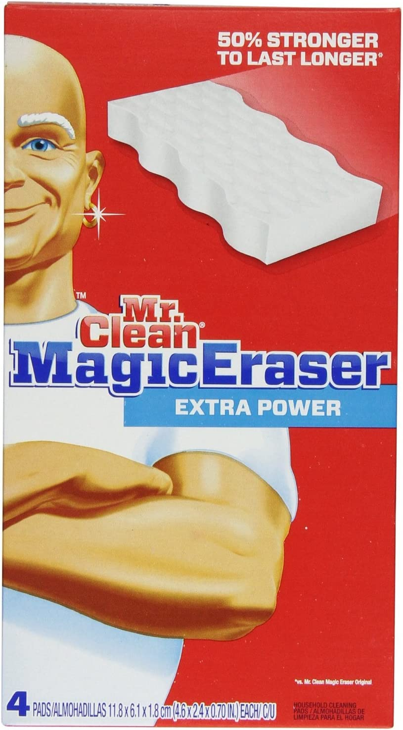 Mr. Clean Magic Eraser Extra Power Pads Pack New mail order shipfree of boxes 2 4