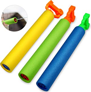 Betheaces. Water Guns Toys for Kids, 3Pack Foam Water Blaster Shooter Summer Fun Outdoor..