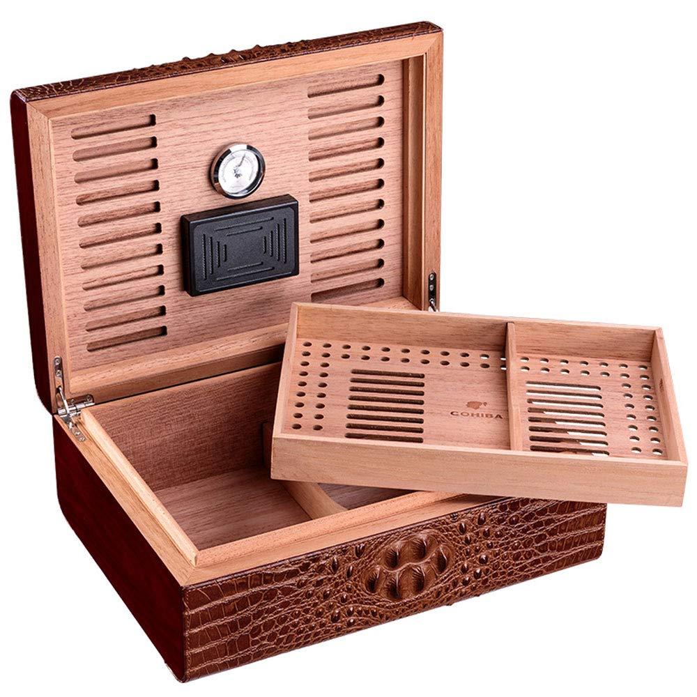 Caja de cigarros, Humidor Profesional de cigarros, Cedro portátil ...
