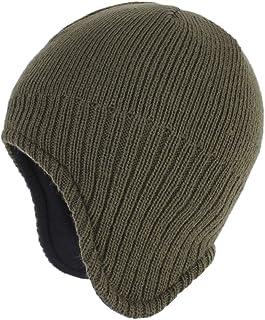 (コネクタイル)Connectyle メンズ 冬 暖かい 耳あて ニット帽 アウトドア 防寒 ニットキャップ スキー ニット 帽子
