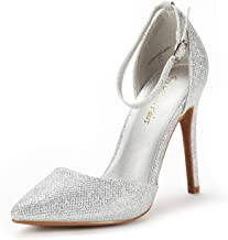 Best cheap silver rhinestone heels Reviews