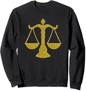 Balance Balance Justice, symbole rétro Golden Balance Sweatshirt