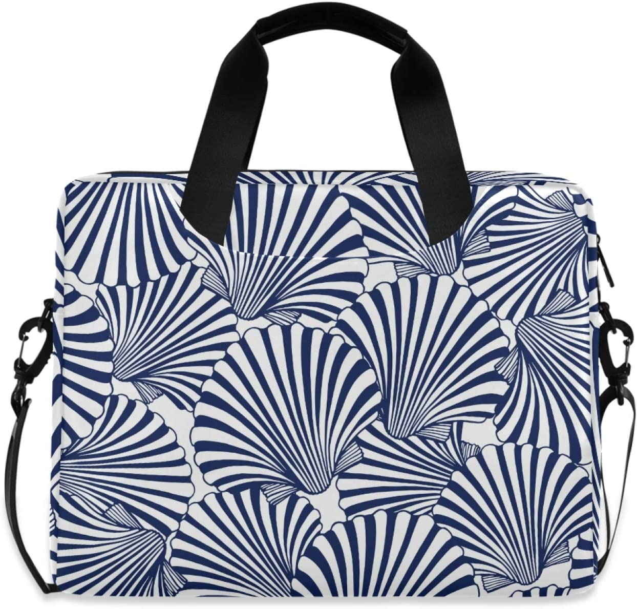 Marine Theme Seashell Pattern Slim Sleeve Rapid rise Laptop 15.7 inch Sale price Brief