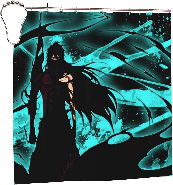 Bleach Ichigo Anime Bathroom Shower Curtain W H 72