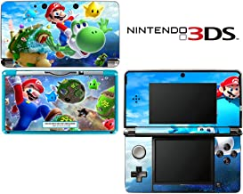 Super Mario Galaxy Yoshi Decorative Video Game Decal Cover Skin Protector for Nintendo 3Ds (not 3DS XL)