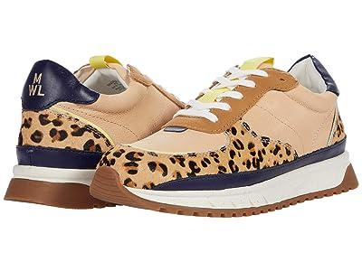 Madewell Kickoff Trainer Sneaker in Animal Print (Fresh Blueberry Multi) Women