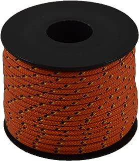 Corderie Italiane 6037705-00Leisure Fantasy Braid 2.5mm-25m orange color: Orange
