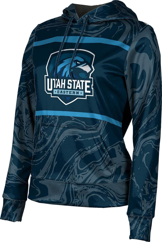 ProSphere Utah State University Eastern Girls' Pullover Hoodie, School Spirit Sweatshirt (Ripple)