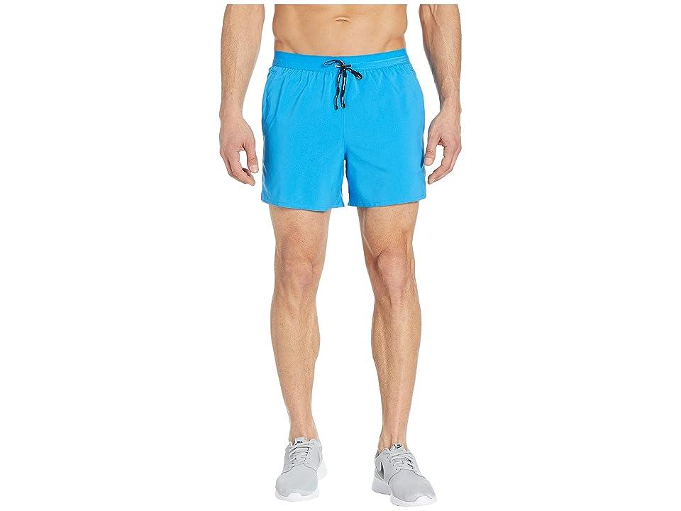 Nike Flex Stride Shorts 5 BF (Light Photo Blue/Metallic Silver) Men