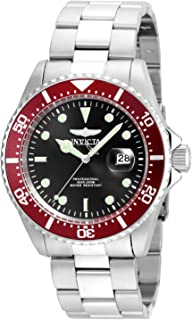 Invicta Men's Pro Diver Quartz Diving Watch with Stainless-Steel Strap, Silver, 21 (Model: 22020)