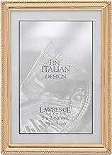 إطار صورة خرز كلاسيكي من لورانس، 5×7، ذهبي