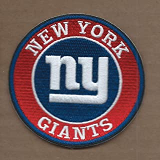 New 3 1/2 INCH New York Giants Iron ON Patch