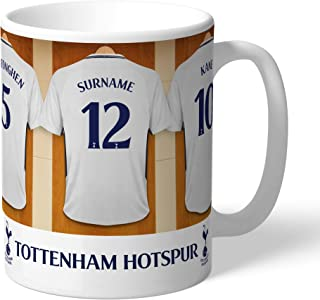 Tottenham Hotspur Official Personalized Dressing Room Mug - Free Personalisation