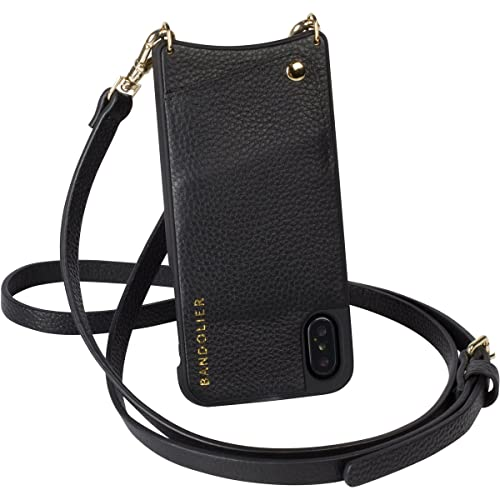 26afa12d3457 Bandolier  Emma  Phone Case   Strap Compatible with iPhone X   XS - Black