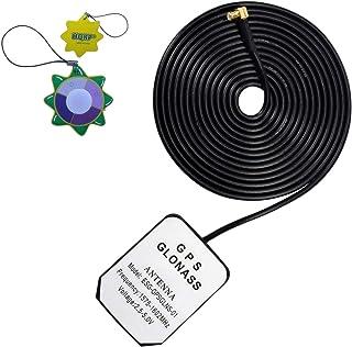 HQRP Antena Externa GPS amplificada 1575.42 MHz de Montaje magnético para GPSMAP 60 (010-00322-10) / GPSMAP 60C (010-00322...
