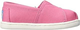 TOMS Bubblegum Pink Canvas Tiny Classics 10009918 (Size: 5)