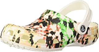 crocs Unisex Kids' White/Multi Clogs - 1 Kids UK (32.5 EU) (1 Kids US) (206486-94S)