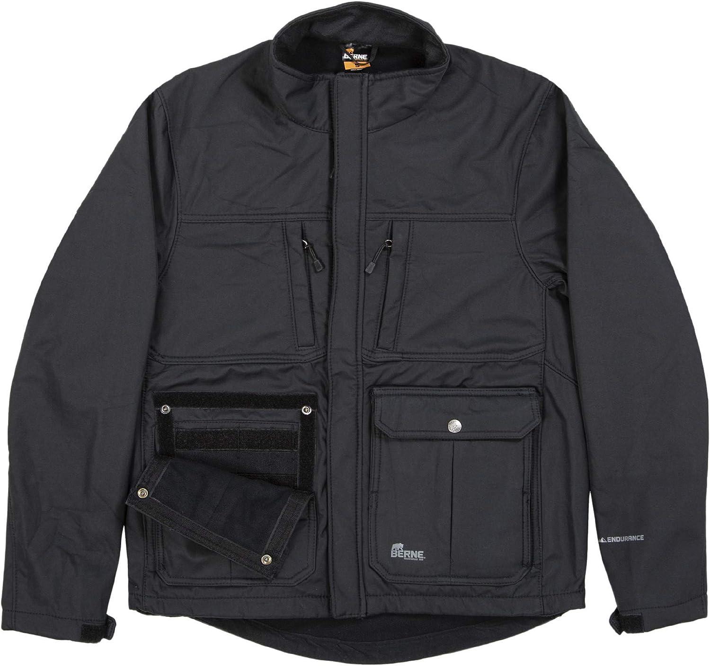 Berne Men's Echo Zero Eight Softshell Jacket
