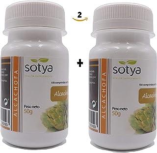Alcachofa 500 mg 200 comprimidos (dos botes 100 + 100).