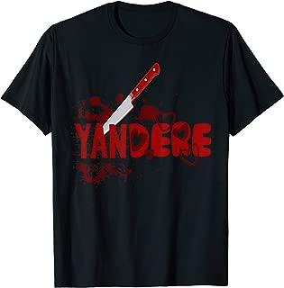 Yandere Knife Shirt   Dere Anime Japanese Senpai Goth Kawaii