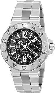 [ブルガリ] 腕時計 ディアゴノ ブラック文字盤 自動巻 DG40BSSD 並行輸入品 シルバー