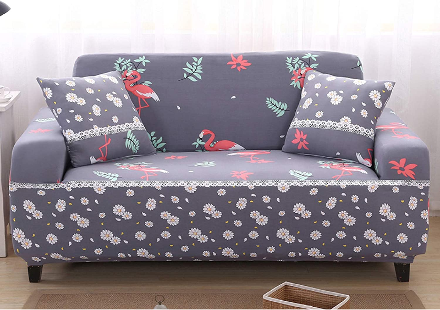 Super National uniform free shipping Fit Sofa Protector Max 61% OFF Anti-Dust Stretchy - Couch Slipcovers