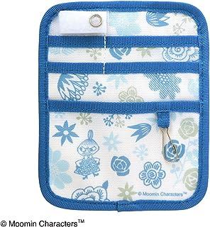 セントレディス ムーミン ポケットオーガナイザー FLOWER(フラワー)ブルー 【ST-ZM0137】 約13×16×0.5cm