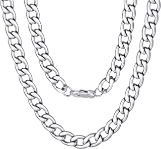 Best fake silver chain necklace Reviews