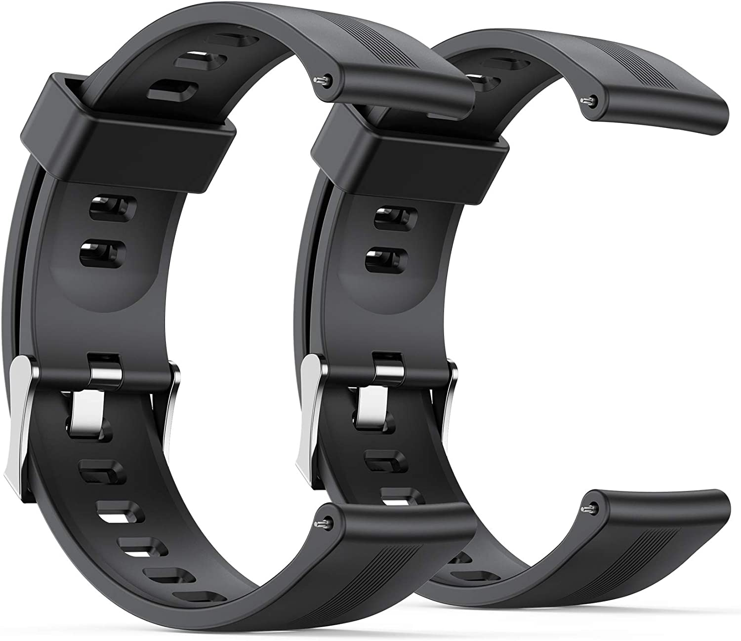 AGPTEK Smart Watch Ranking TOP4 Bands Soft Strap 22mm LW11 Special sale item for 2 Replacement