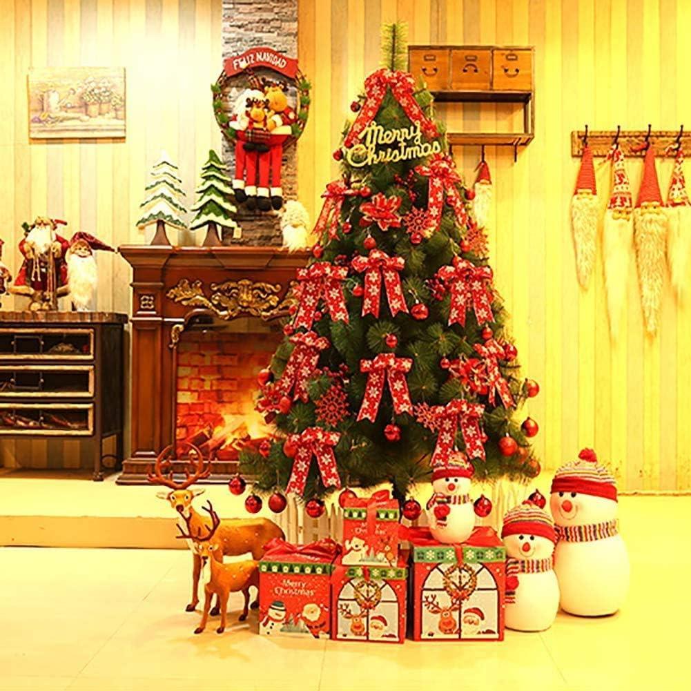 Jin-Siu At the price Xmas Tree 9.8FT Premium Artificial Pine Christmas New York Mall Hinged